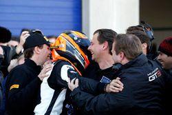 Race winner #63 GRT Grasser-Racing-Team, Lamborghini Huracán GT3: Rolf Ineichen
