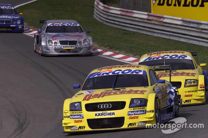 Christian Abt, Abt-Audi TT-R, und Mattias Ekström, Abt-Audi TT-R