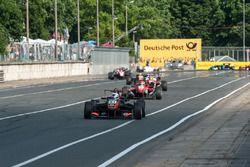 Anthoine Hubert, Van Amersfoort Racing Dallara F312 - Mercedes-Benz, background, crash, Ben Barnicoa