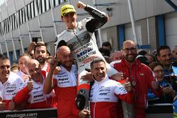 Winner Francesco Bagnaia, Aspar Team Mahindra