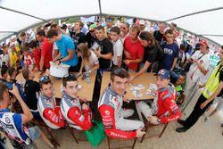 Craig Breen, Scott Martin, Citroën DS3 WRC, Abu Dhabi Total World Rally Team and Stéphane Lefebvre,