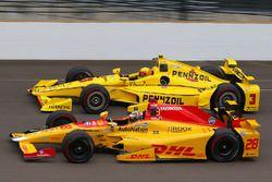 Райана Хантер-Рей, Andretti Autosport Honda, Элио Кастроневес, Team Penske Chevrolet