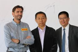(LtoR)Ernesto Garcia Domingo,Hepin Wan,Mingqin Ye