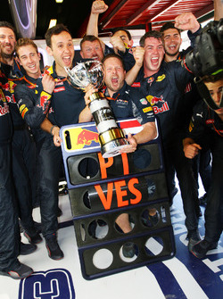Red Bull Racing fête la victoire de Max Verstappen, Red Bull Racing