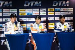 Press Conference: Paul Di Resta, Mercedes-AMG Team HWA, Mercedes-AMG C63 DTM; Robert Wickens, Mercedes-AMG Team HWA, Mercedes-AMG C63 DTM; Gary Paffett, Mercedes-AMG Team ART, Mercedes-AMG C63 DTM
