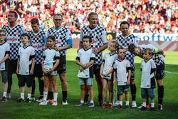 Nazionale Piloti, Felipe Massa, Williams ve Sebastian Vettel, Ferrari