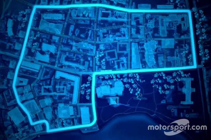 El circuito del ePrix de Lugano