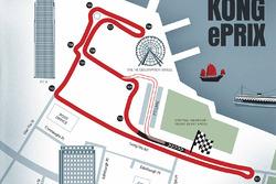 Streckenlayout: ePrix Hongkong
