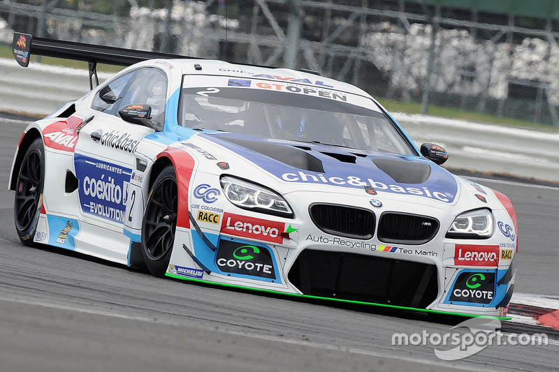 #2 BMW Team Teo Martin: Miguel Ramos, Pieter Schothorst