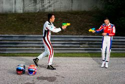 Alexander Albon, ART Grand Prix y Antonio Fuoco, Trident