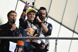 Race winner Brad Binder, Red Bull KTM Ajo