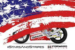 Teaser livrea USA Forward Racing a Misano