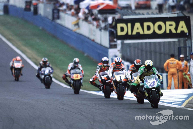 1997 - Premier podium en 500cc
