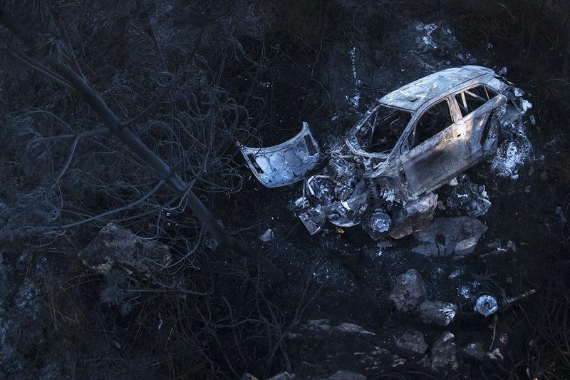 #4: Die Überreste des Hyundai i20 WRC von Hayden Paddon und John Kennard
