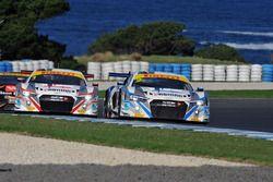 #2 Jamec Pem Audi R8 LMS: Stephen McLaughlan, #1 Jamec Pem Audi R8 LMS: Miguel Molina, Tony Bates
