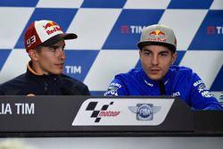 Марк Маркес, Repsol Honda Team и Маверик Виньялес, Team Suzuki MotoGP