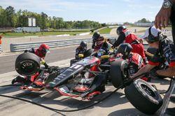 Sébastien Bourdais, KV Racing Technology Chevrolet, au stand