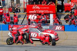 Ryan Reed, Roush Fenway Racing Ford pit action
