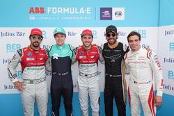 Lucas di Grassi, Audi Sport ABT Schaeffler, Oliver Turvey, NIO Formula E Team, Daniel Abt, Audi Spor