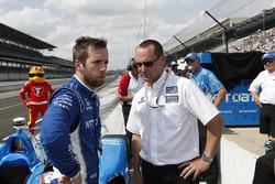 Ed Jones, Chip Ganassi Racing Honda with Barry Wanser