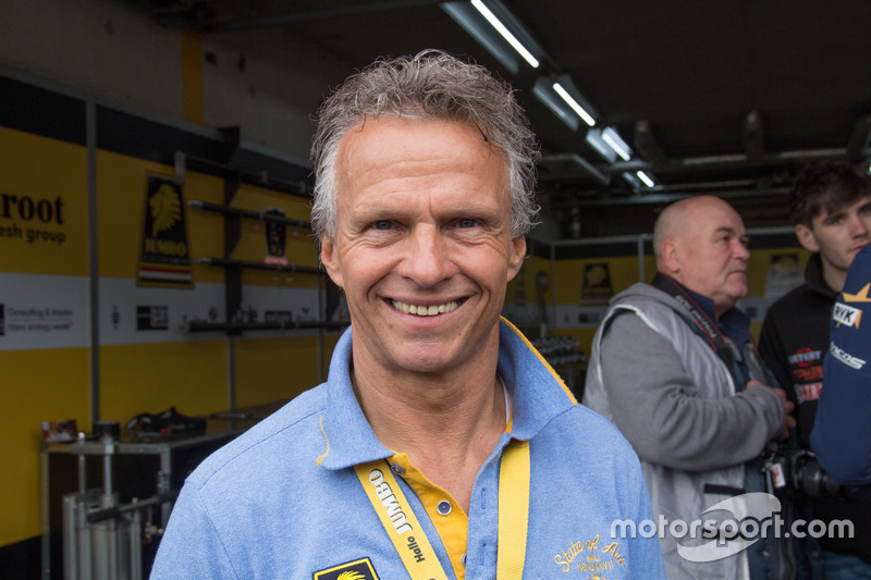 Jan Lammers lors des Jumbo Racing Days