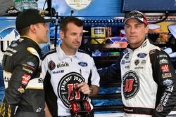 Aric Almirola, Stewart-Haas Racing, Ford Fusion Smithfield/Waffle House, Rodney Childers y Kevin Harvick, Stewart-Haas Racing, Ford Fusion Jimmy John's