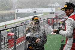 Fabienne Wohlwend, vincitrice Gara 2 Pirelli Am