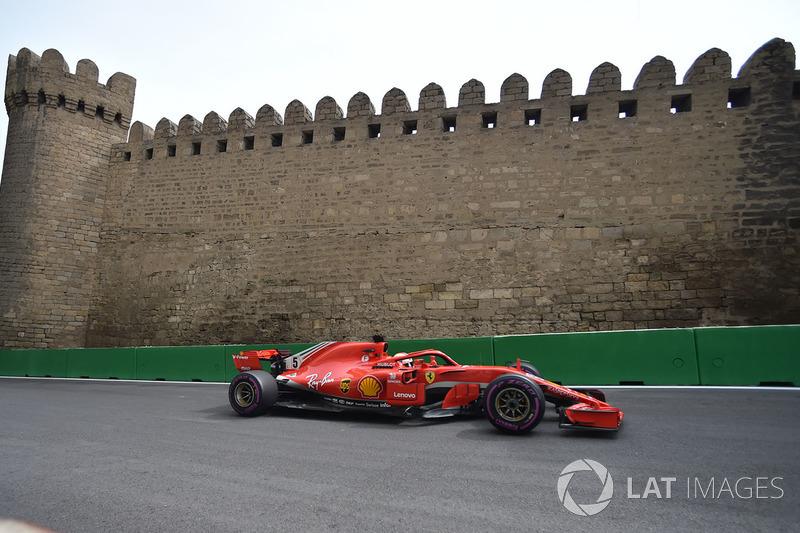 11. Sebastian Vettel, Ferrari SF71H