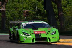 Lamborghini Huracan #63, Antonelli Motorsport: Zampieri-Altoe
