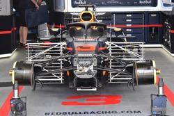 Detalle delantero del Red Bull Racing RB14