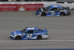Kyle Larson, Chip Ganassi Racing, Chevrolet Camaro Credit One Bank Ryan Newman, Richard Childress Ra