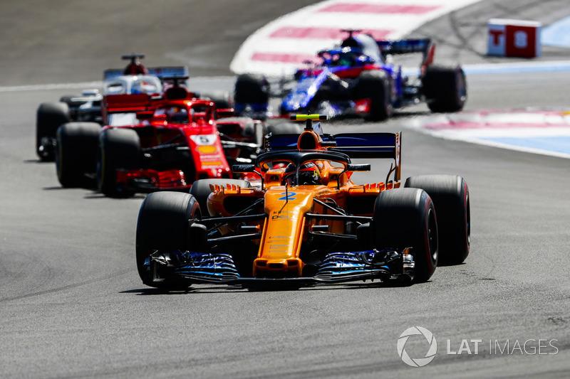12e : Stoffel Vandoorne (McLaren)