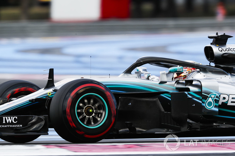 Fransa: Lewis Hamilton, Mercedes AMG