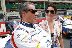 Juan Pablo Montoya, United Autosports, avec sa femme Connie