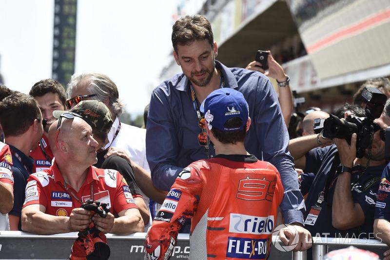 Pau Gasol, Jorge Lorenzo, Ducati Team