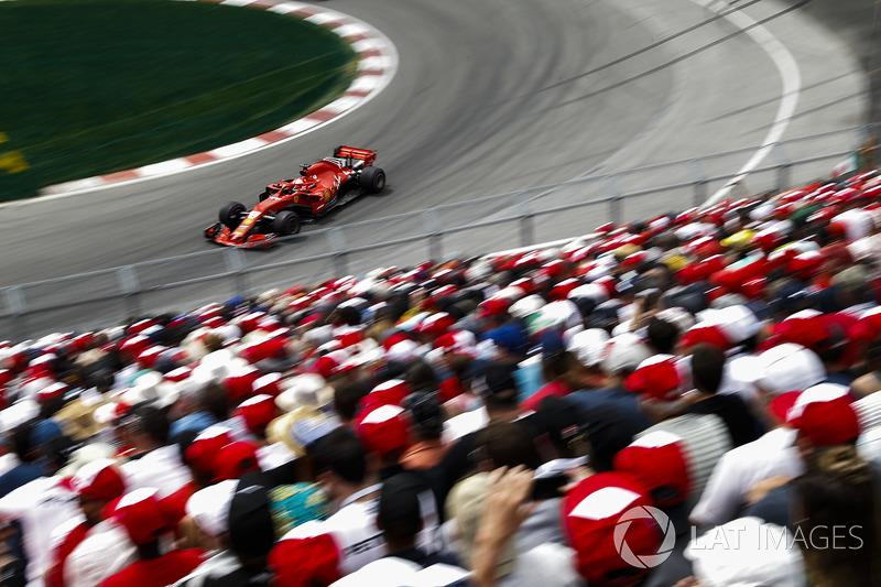 GP de Canadá Sebastian Vettel