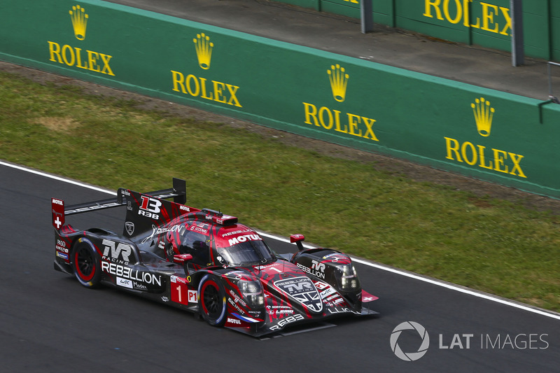 Andre Lotterer: #1 Rebellion Racing Rebellion R-13