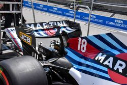 Williams FW41 wing detail