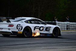 #99 TA2 Ford Mustang: Justin Haley of Mike Cope Racing
