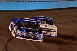 Austin Cindric, Brad Keselowski Racing Ford, Johnny Sauter, GMS Racing Chevrolet