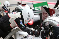 Toyota Gazoo Racing mechanic at work