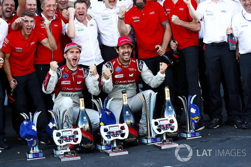 2017/2018 - Fórmula E - Audi Abt Campeã Mundial de Construtores