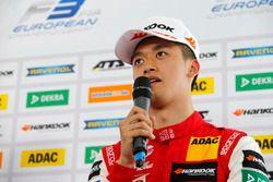 Conferenza stampa, Guanyu Zhou, PREMA Theodore Racing Dallara F317 - Mercedes-Benz