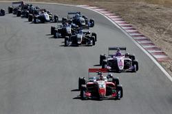 Guanyu Zhou, PREMA Theodore Racing Dallara F317 - Mercedes-Benz, Jehan Daruvala, Carlin Dallara F317 - Volkswagen, Fabio Scherer, Motopark Dallara F317 - Volkswagen