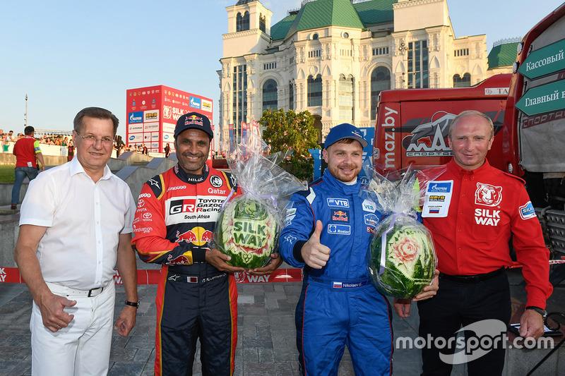 Nasser Al-Attiyah, Toyota Gazoo Racing, Eduard Nikolaev, Team Kamaz Master