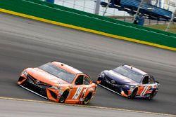 Daniel Suarez, Joe Gibbs Racing, Toyota Camry ARRIS Denny Hamlin, Joe Gibbs Racing, Toyota Camry FedEx Office