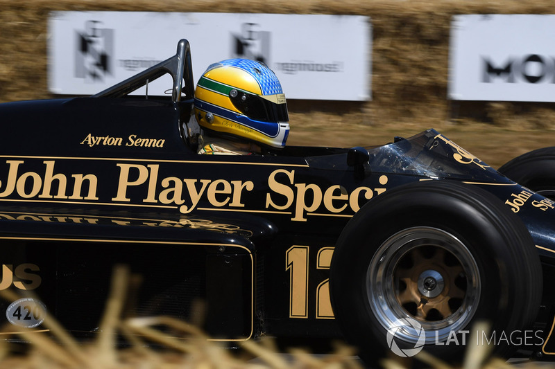 Chris Dinnage Lotus 97T