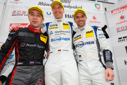 Robin Frijns, Frank Stippler, Christian Mamerow, Phoenix Racing, Audi R8 LMS