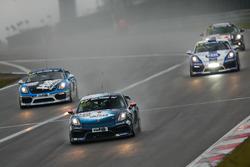 Stefan Beyer, Kevin Warum, Philipp Hagnauer, Porsche Cayman GT4 Clubsport