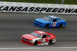 Ryan Reed, Roush Fenway Racing Ford and Carl Long, Carl Long Motorsport Dodge